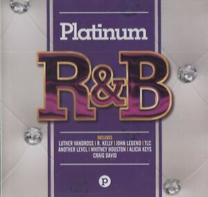 Platino-R-amp-b-2017-18-track-CD-Nuevo-Sellado-John-Legend-Whitney-Houston