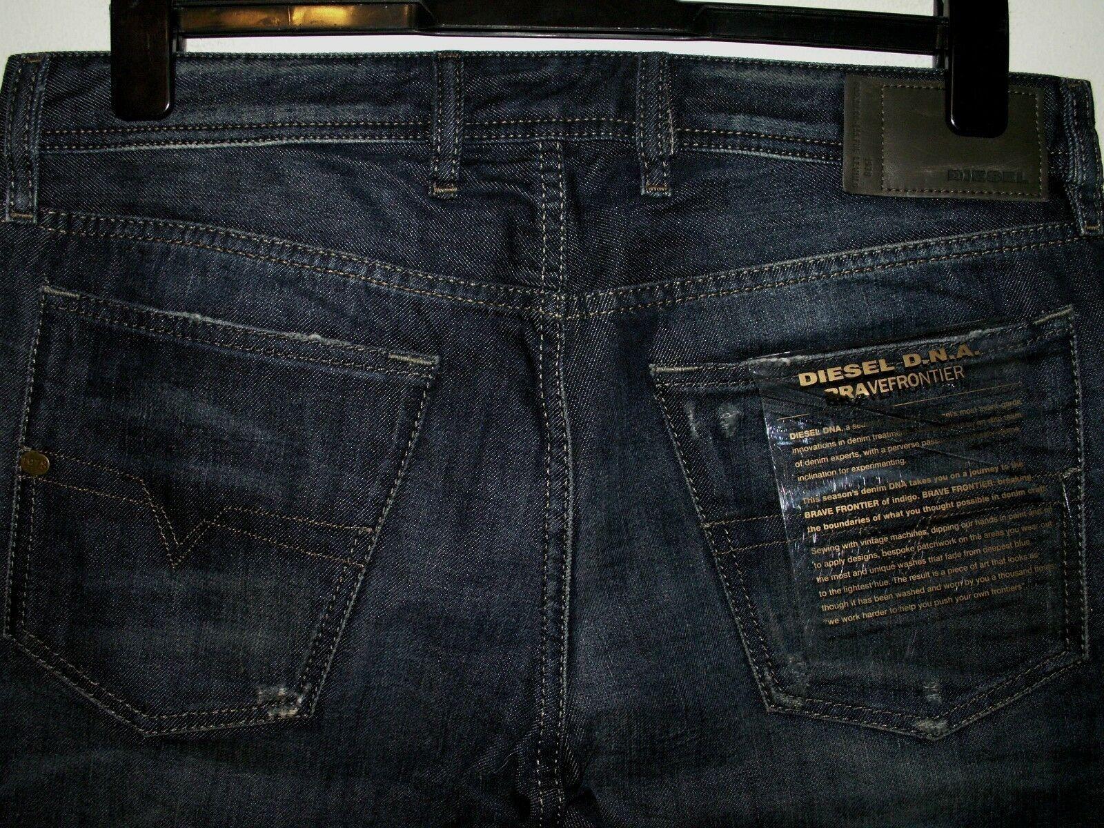 Diesel waykee regular-straight jeans 0837A W32(34) L32 a2085  sale