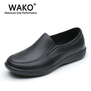 Details about Mens Chef Shoes Non-Slip Kitchen Cook Safety Restaurant Water  Oil Resistant Hot 710ac7e1a