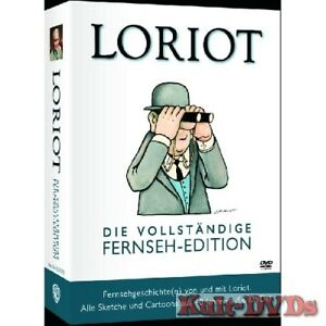 Loriot-Vollstaendige-Fernseh-Edition-6-DVD-Box-Vicco-von-Buelow-Neu-OVP