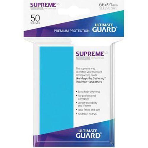 Protège-cartes Ultimate Guard SUPREME UX Bleu Clair x50  Neuf Accessoires