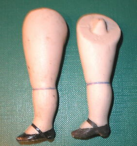 "Dolls & Bears Antique Legs 2.79"" For Dollhouse Doll Lastic Fixing Dolls"