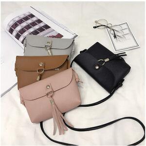 Fashion-Women-Vintage-Handbag-Small-Mini-Flap-Messenger-Tassel-Shoulder-Bag