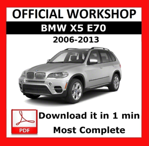 official workshop manual service repair bmw series x5 e70 2006 rh ebay co uk bmw x5 e70 repair manual bmw x5 repair manual