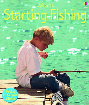 """1 of 1 - """"AS NEW"""" Starting Fishing (Usborne First Skills), Sims, Lesley, Edon, H., Book"""
