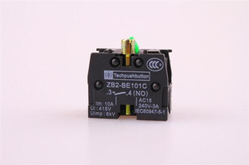 10Pcs ZB2-BE101C aucun contact Block remplace Brand New 10 A 400 V