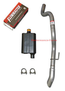 93-97 V8 Jeep Grand Cherokee Muffler and Converter Pipe Exhaust 5 Year Warr