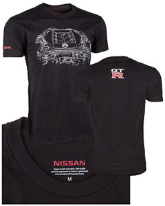 Genuine Nissan GTR GT-R R35 Engine T-shirt Tee Shirt