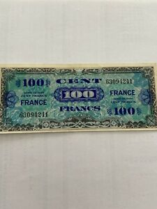 100-francs-note-allies-new-without-serie