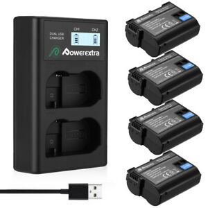 EN-EL15-Battery-For-Nikon-D7100-D7200-D7000-D600-D610-D800-D810-amp-USB-Charger