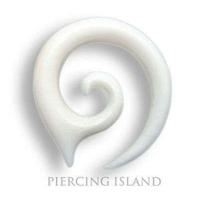 2mm / 4mm / 6mm  Dehnungsspirale Spirale Sichel Bone Ohr Ear Piercing 177