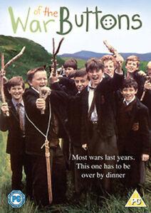 WAR OF THE BUTTONS DVD [UK] NEW DVD