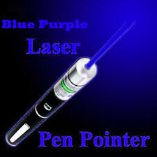 900miles Blue Purple Laser Pointer Pen Cat Dog Pet Toy Aaa Lazer Teaching Beam