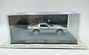 Fabbri-James-Bond-Chevrolet-Corvette-ver-matar-a-un-modelo-diecast-escala-1-43-de-coche