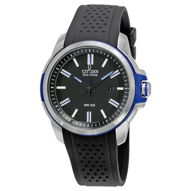Citizen AR Eco-Drive Black Dial Mens Watch AW1151-04E