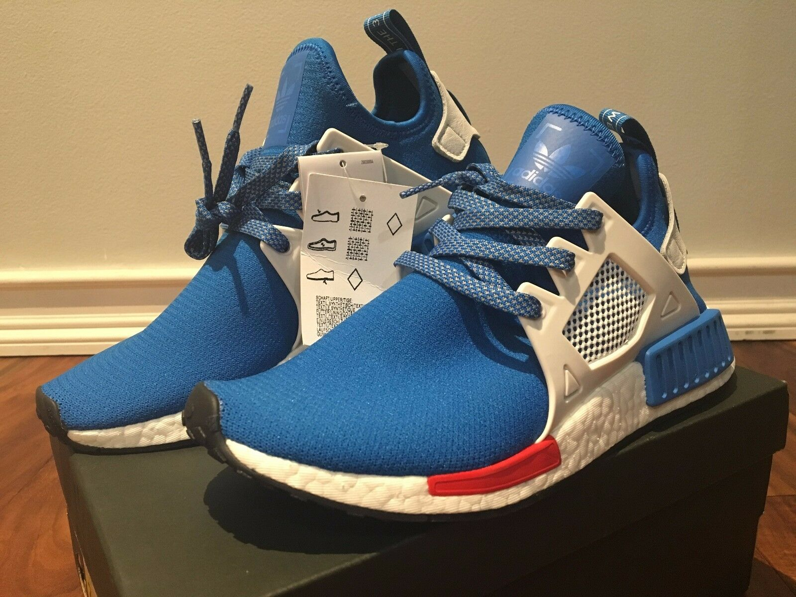 Adidas NMD_XR1 Exclusive Bluebird Europe release FootLocker Exclusive NMD_XR1 CG3092 SUPER Limited 2ad3ef