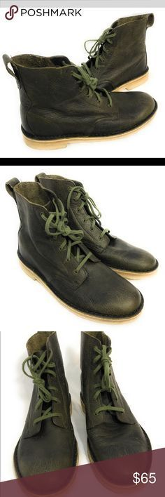 Clarks Originals Originals Originals Mens ** X DESERT MALI BOOTS ** Olive Green Leather ** UK 8,9,10 fdcefd