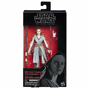 "6/"" Jedi Training - Rey The Black Series Star Wars"