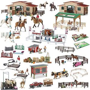 Schleich Farm Life 42111 Turnierreiterin Mit Pferd Consumers First Action Figures Animals & Dinosaurs