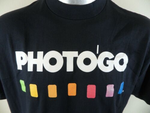 Vintage 1980's PHOTOGO Rainbow Color Blocks Pride