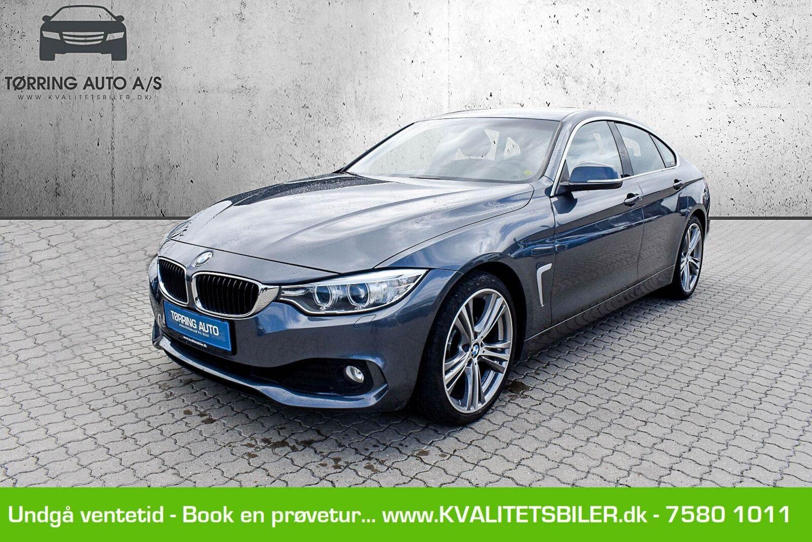 BMW 430d 3,0 Gran Coupé aut. 5d