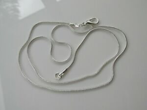 """Jewellery Craft Design Silver Plated Snake Chain Chains Findings 24/"""" PACKS"""