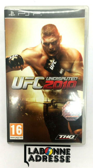 PSP JEU VIDEO UFC 2010 UNDISPUTED - COMPLET FRANCAIS - TBE