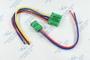 Per NISSAN MICRA K12 nota NUOVO Riscaldatore Ventilatore Resistore Cablaggio Telaio Spina
