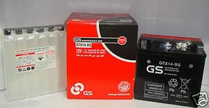 BATTERIE-GS-GROUPE-YUASA-GTX14-BS-YTX14-BS-POUR-BMW-K-1200-R-S-A-PARTIR-DE-06