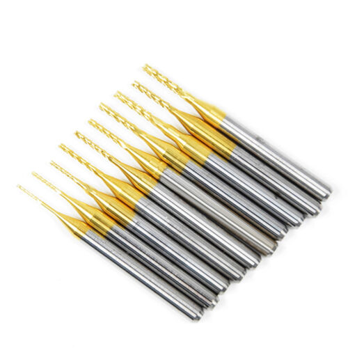 0.8-3.0mm Cemented Carbide End Mill CNC PCB Engraving Drill Bit Milling Cutter