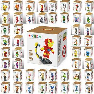 New Lots Of Styles LOZ Diamond Blocks iBLOCK FUN Mini Nano Assembly Toys Dolls