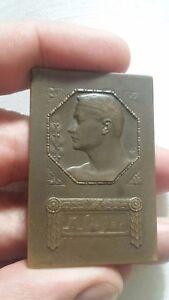 GERMANY-Medaille-oder-alte-Sportplatte-aus-Bronze