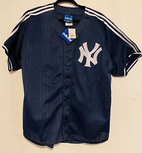 Adidas Vintage New York Yankees Mens Baseball Jersey Medium Mesh ...