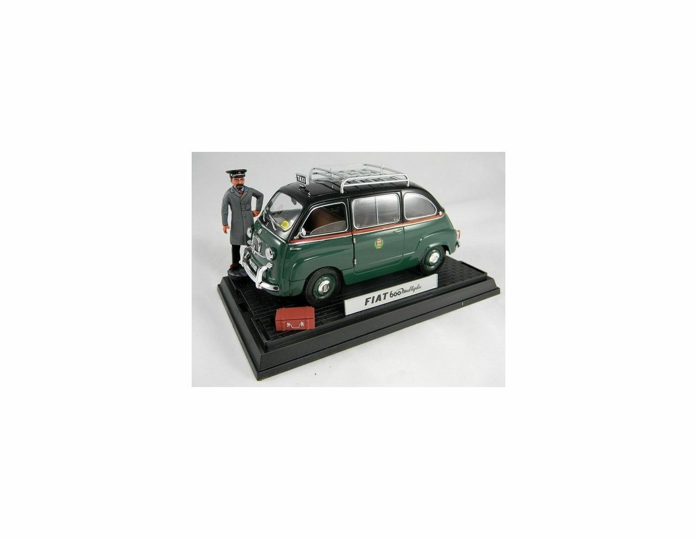 Miniminiera T74302 FIAT 600 MULTIPLA TAXI MILANO 1 18 Modellino
