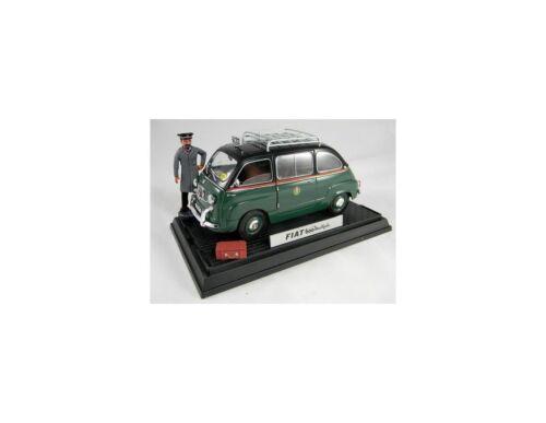 Miniminiera T74302 FIAT 600 MULTIPLA TAXI MILANO 1//18 Modellino