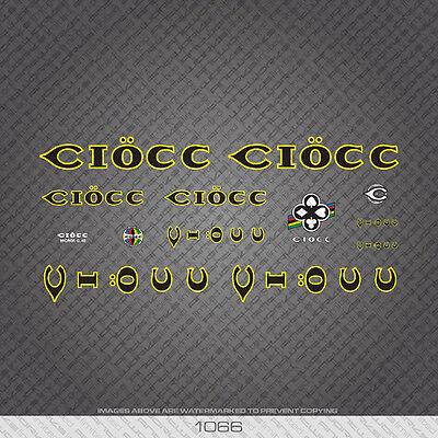 Ciöcc Ciocc Decals Bicycle Transfers Stickers Set 1