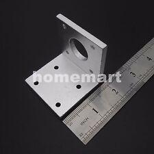 For 42mm NEMA17 Stepper Motor Aluminum Mounting Bracket WHITE of Aluminum NEW