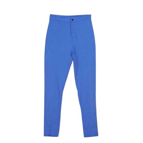 Ladies Fashion Slim Pants Vita Alta Lunghezza Intera Pantaloni skinny pantaloni matita