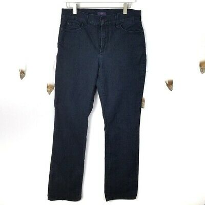 Spirited Nydj Straight Leg Dark Wash Jeans Size 10 $119 Not Your Daughter's Jeans Women's Clothing