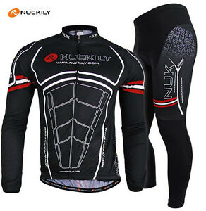Mens-MTB-Cycling-Bike-Long-Sleeve-Jersey-Pants-Set-Bicycle-Sports-Clothing-Suit