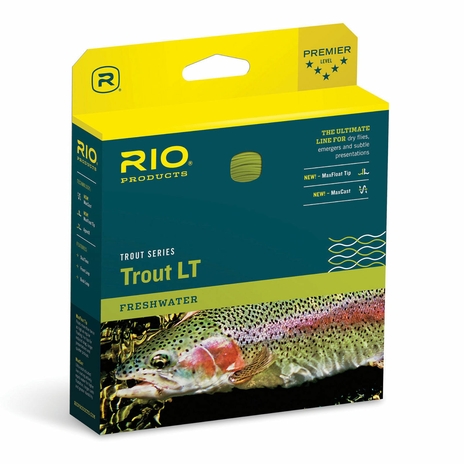 RIO Trout LT Floating Fly Line WF4