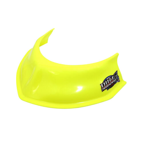 """Dirt Defender 10400 Neon Yellow 3.5/"""" Hood Scoop for Modified Late Models Stocks"""