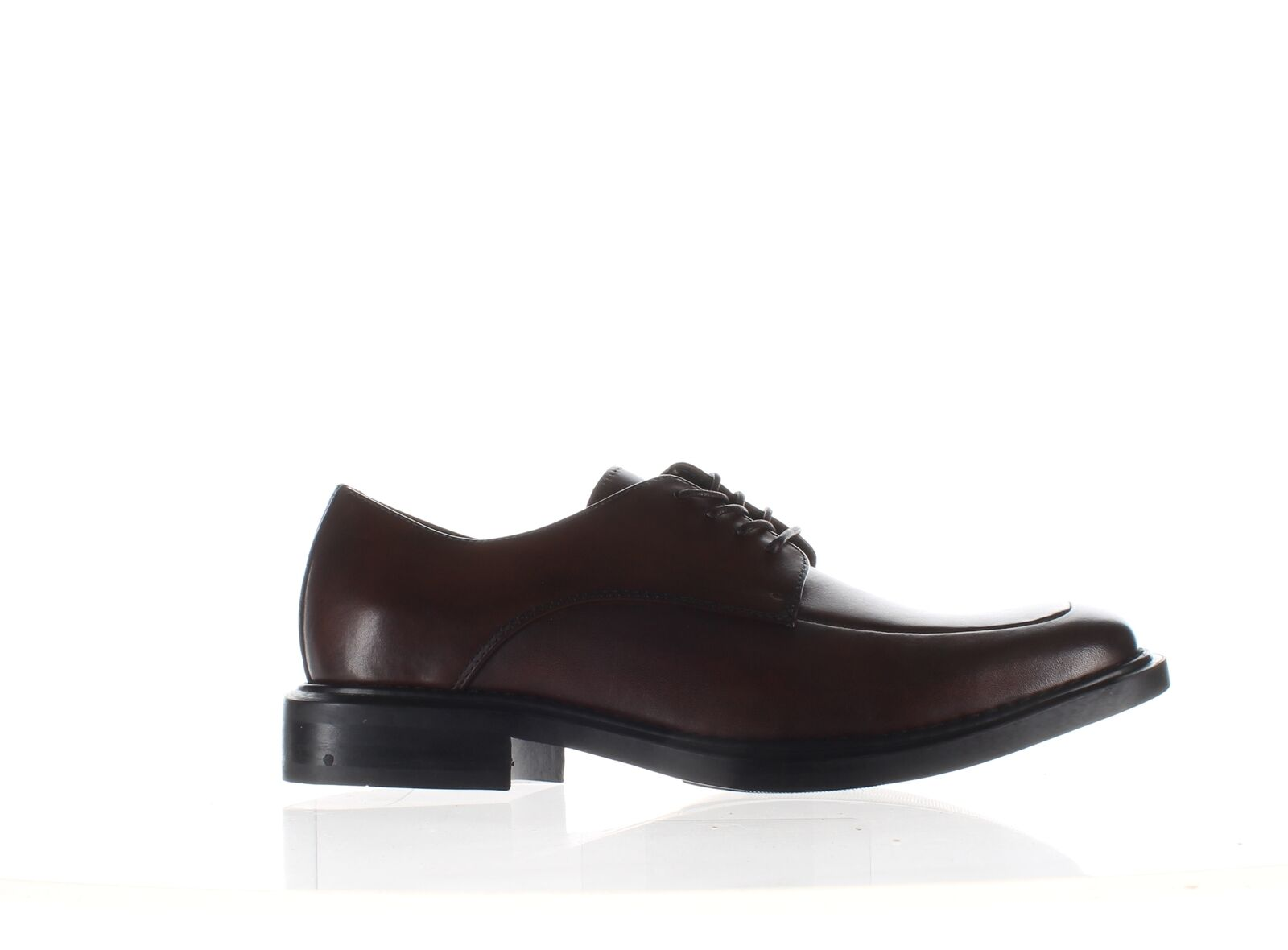 Kenneth Cole Mens Merge Brown Oxford Dress Shoe Size 8