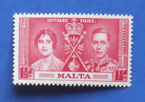 1937 MALTA 1 1/2d SCOTT# 189 S.G.# 215 UNUSED NH CS17310