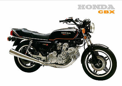 HONDA Poster CBX 1000 CBX1000 Six 1979 1980 Suitable 2 Frame