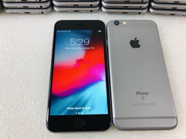 Apple iPhone 6s - 32GB - Space Gray (Unlocked) A1688 (CDMA + GSM) (CA)