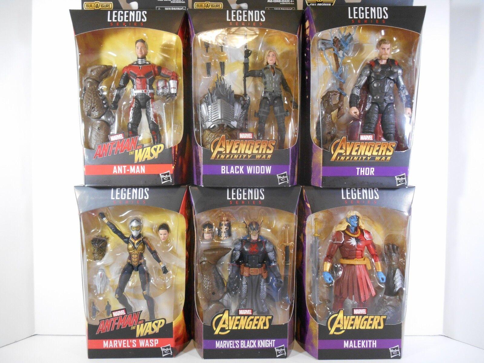 Marvel Legends Avengers Infinity War Wave 2 BAF Cull Obsidian