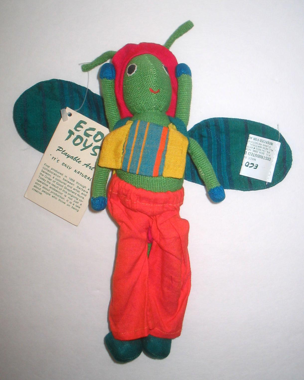 PLAYABLE ART  OOAK Handmade ECO TOYS Bug Plush Toy