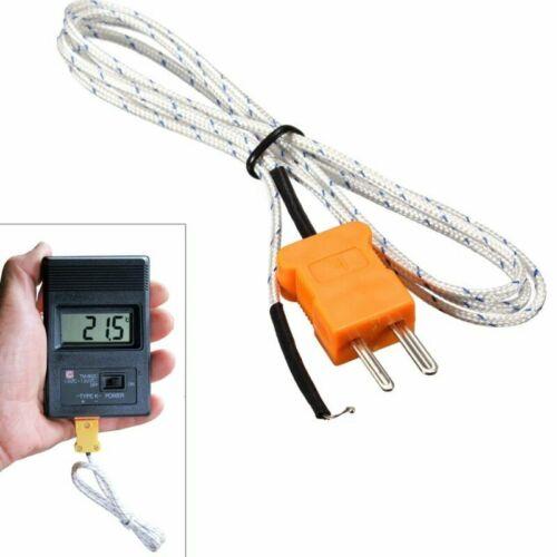 50~550℃ for Multimeter K Type Thermocouple Probe Temperature Sensor Wire