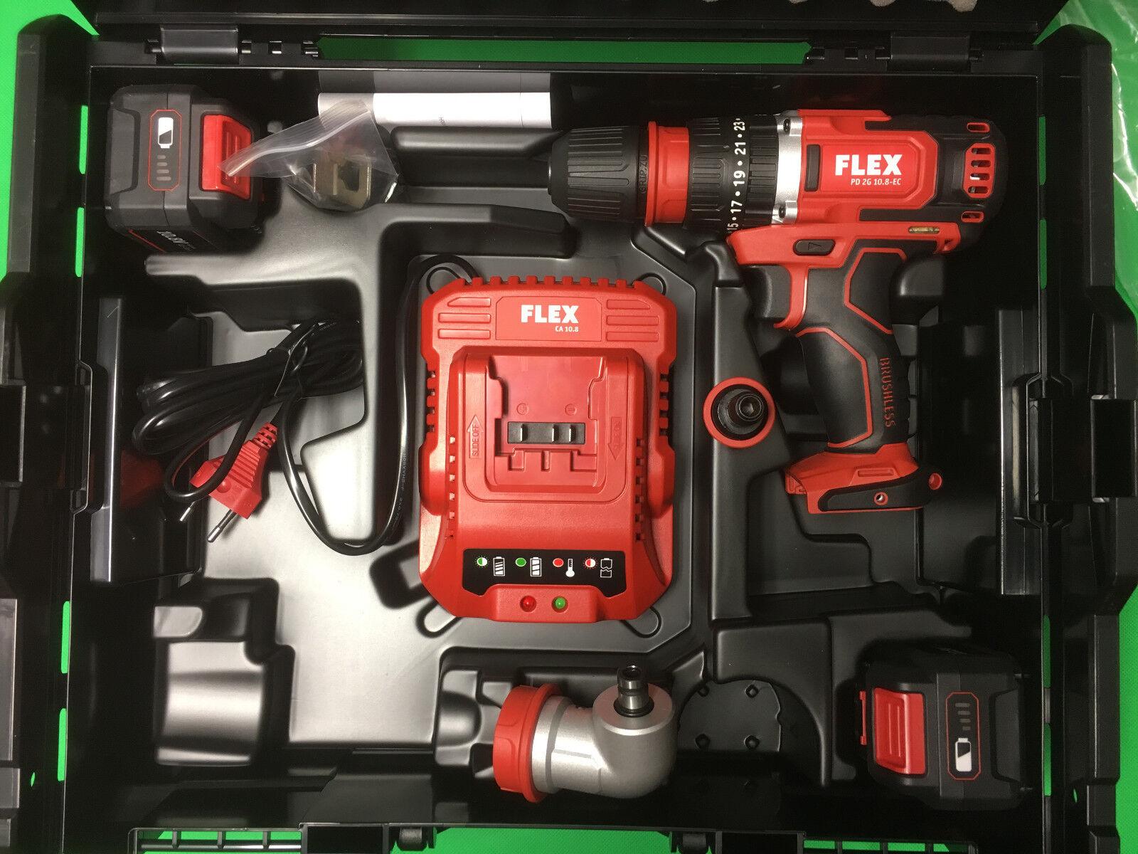 FLEX Akku  2-Gang Akku-Schlagbohrschrauber 10,8 V  6,0Ah  PD 2G 10.8-EC  418013